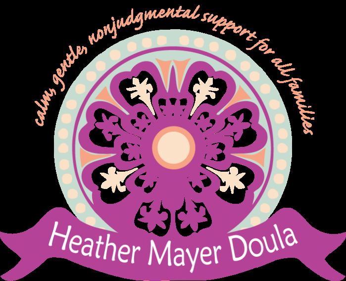 Flower round logo