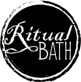 Round wax seal like logo of RitualBath