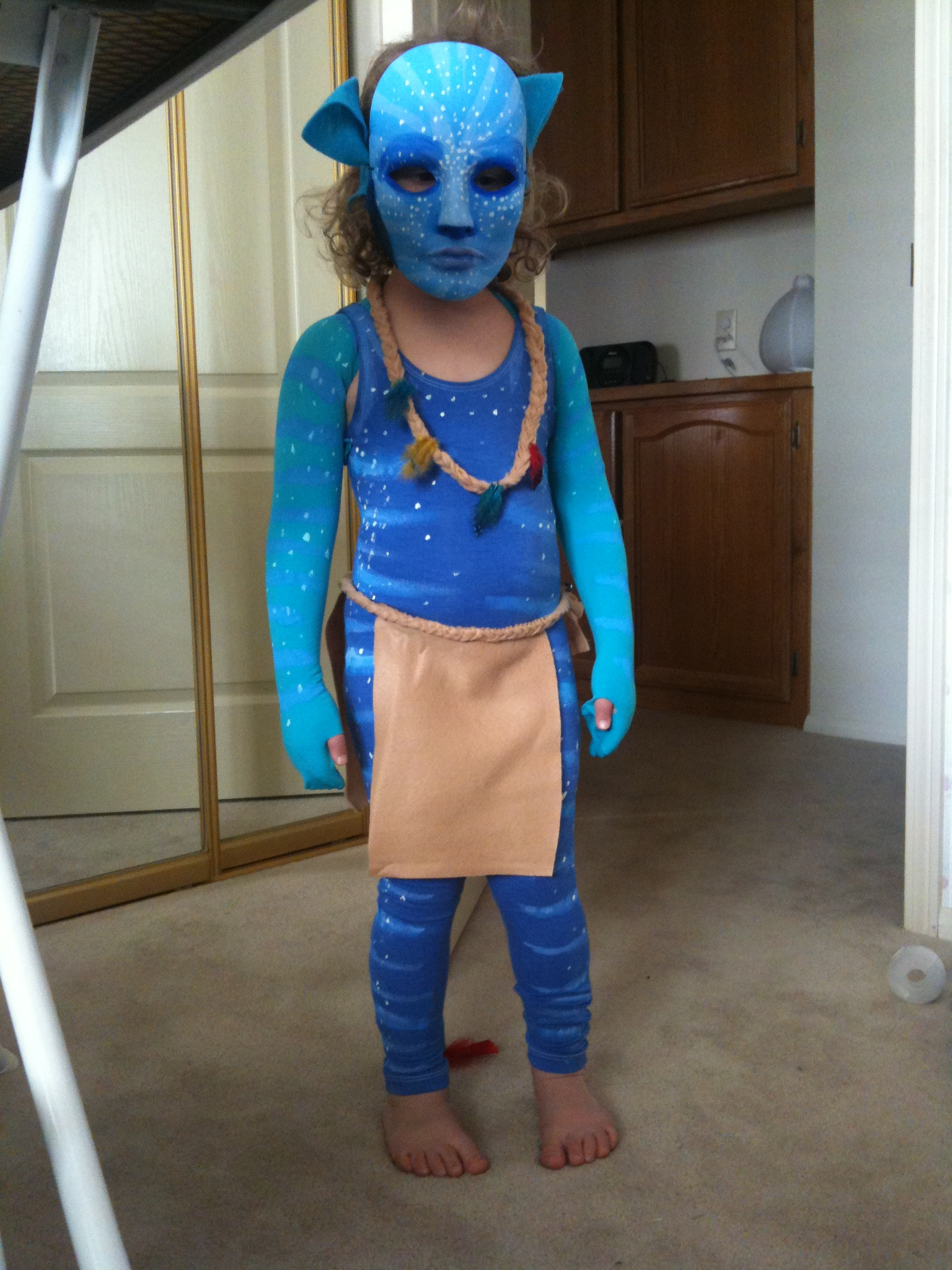 Toddler Avatar Costume